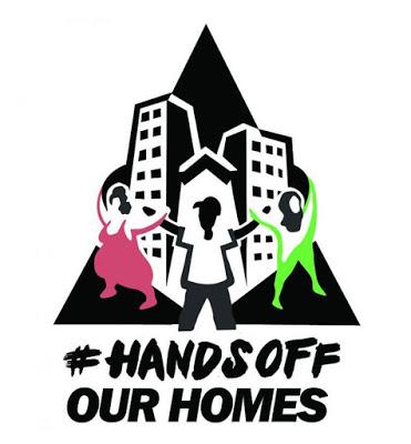 A Minga no Encontro Internacional Hands Off, em Lisboa