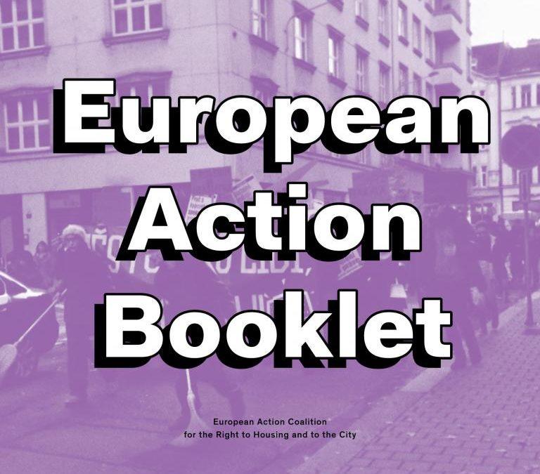 European Action Booklet sobre o direito à habitação