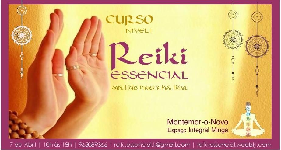 Curso de Reiki Essencial – Nível 1