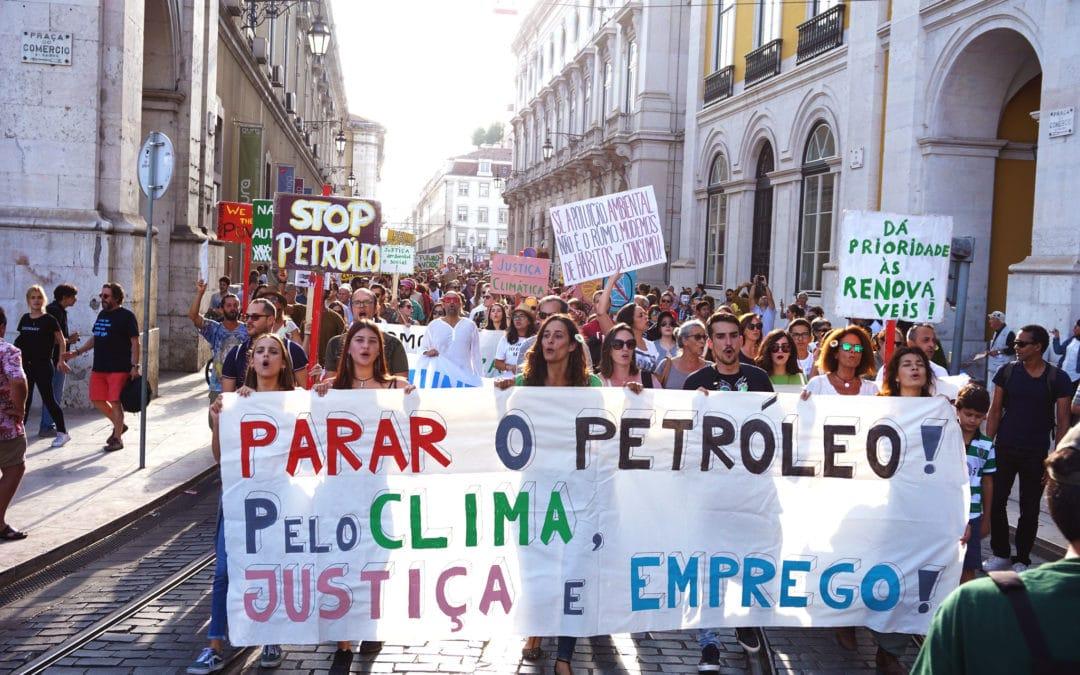 Conversa sobre a luta pela justiça climática