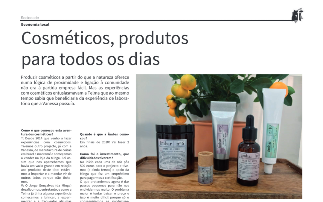 Âmbar na Folha de Montemor