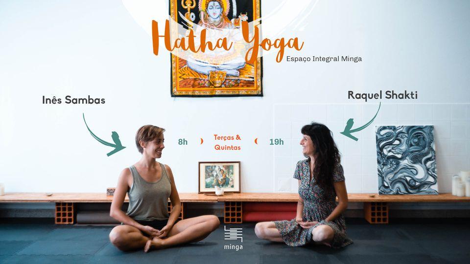 Recomeçaram as aulas de yoga no Espaço Integral da Minga!