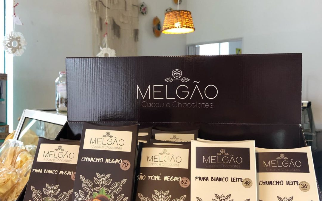 Chocolates Melgão na loja da Minga